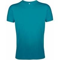 Футболка мужская приталенная REGENT FIT 150, винтажный синий