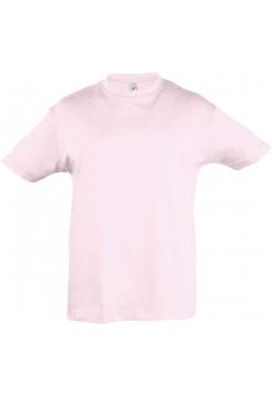 Футболка детская REGENT KIDS 150, светло-розовая