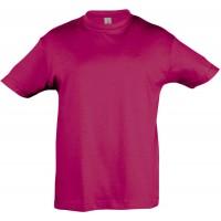 Футболка детская REGENT KIDS 150, ярко-розовая (фуксия)