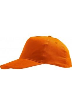 Бейсболка SUNNY, оранжевая