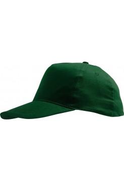 Бейсболка SUNNY, темно-зеленая