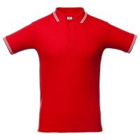 Рубашка поло Virma Stripes, красная