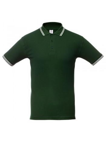 Рубашка поло Virma Stripes, зеленая оптом