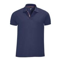 Рубашка поло мужская PATRIOT 200, темно-синяя