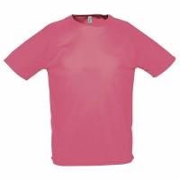 Футболка унисекс SPORTY 140, розовый коралл