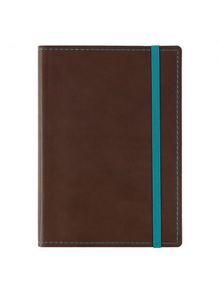 Блокнот Vivid Colors в мягкой обложке, коричневый