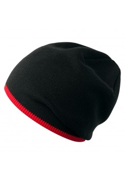 Шапка Best, черно-красная