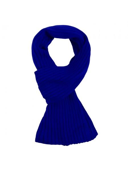 Шарф Stripes, ярко-синий