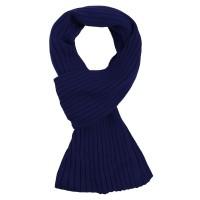 Шарф Stripes, темно-синий