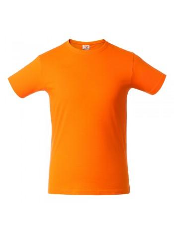 Футболка мужская HEAVY, оранжевая оптом