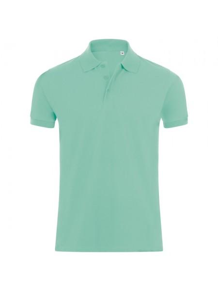 Рубашка поло мужская PHOENIX MEN, зеленая мята