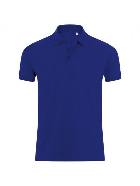 Рубашка поло мужская PHOENIX MEN, синий ультрамарин