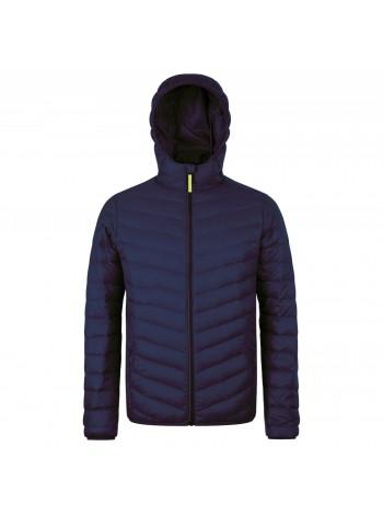 Куртка пуховая мужская RAY MEN, темно-синяя оптом