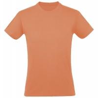 Футболка REGENT 150, оранжевая (абрикосовая)