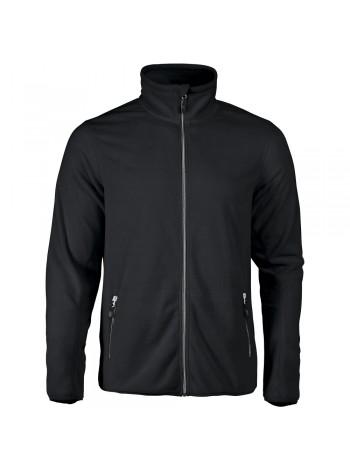 Куртка флисовая мужская TWOHAND черная оптом