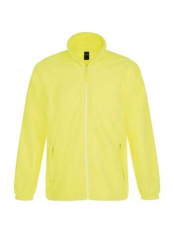Куртка мужская North, желтый неон оптом