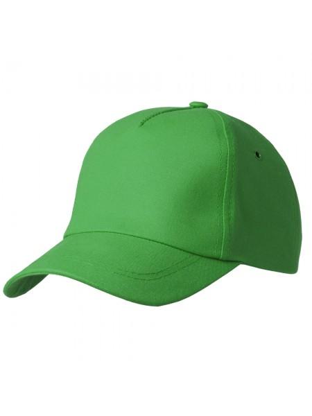 Бейсболка Bizbolka Match, ярко-зеленая