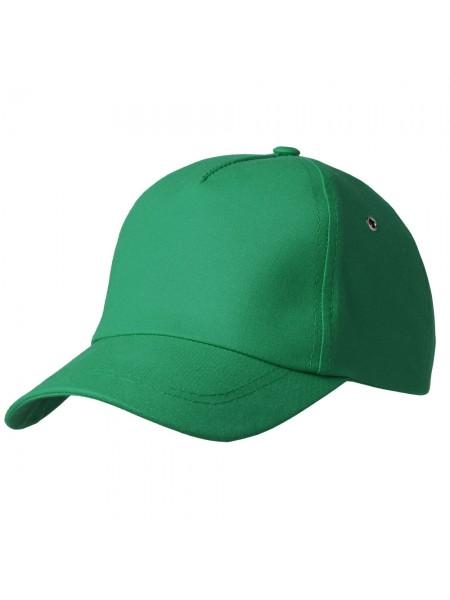 Бейсболка Bizbolka Match, темно-зеленая