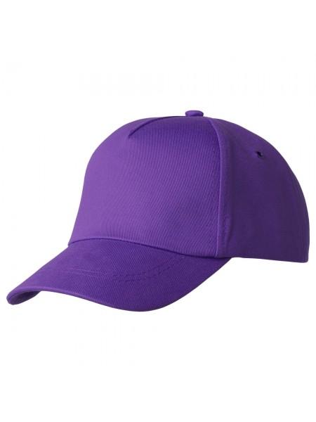 Бейсболка Bizbolka Convention, фиолетовая