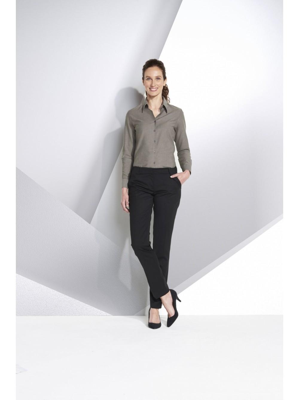 622f57c42b4 Рубашка женская с длинным рукавом EMBASSY