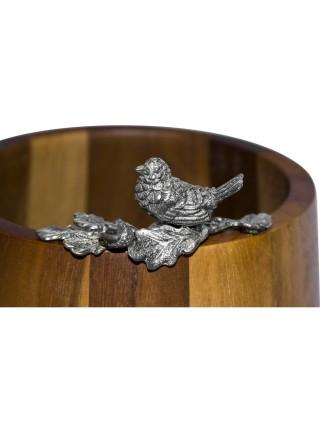 Орешница-конфетница «Певчая птичка»
