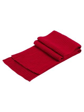 Шарф Stripes, красный (алый)